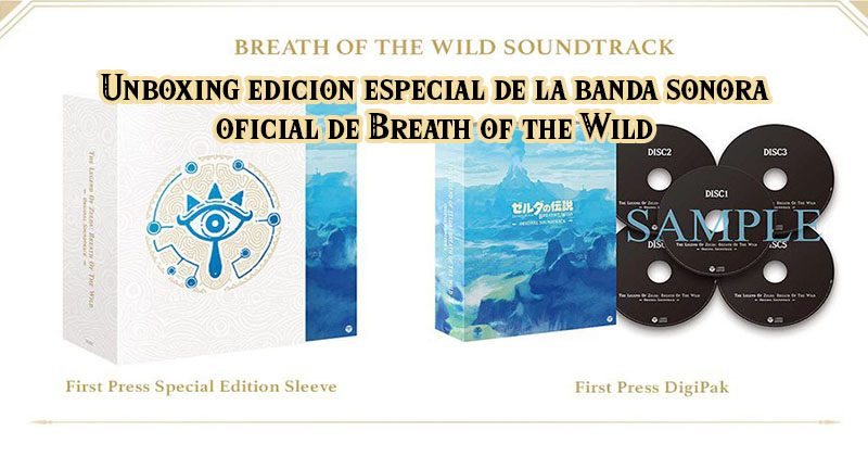 Unboxing de la banda sonora oficial (edición especial) de Breath of the Wild
