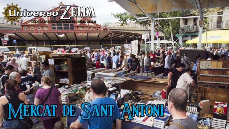 Juegos Retro en el Mercado de Sant Antoni