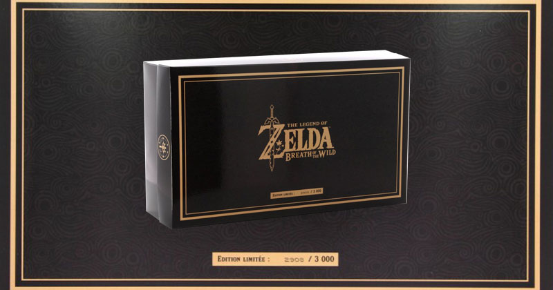 My Zing Box: caja francesa de Breath of the Wild