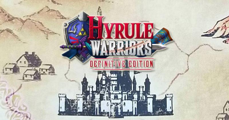 El interior de Hyrule Warriors Definitive Edition