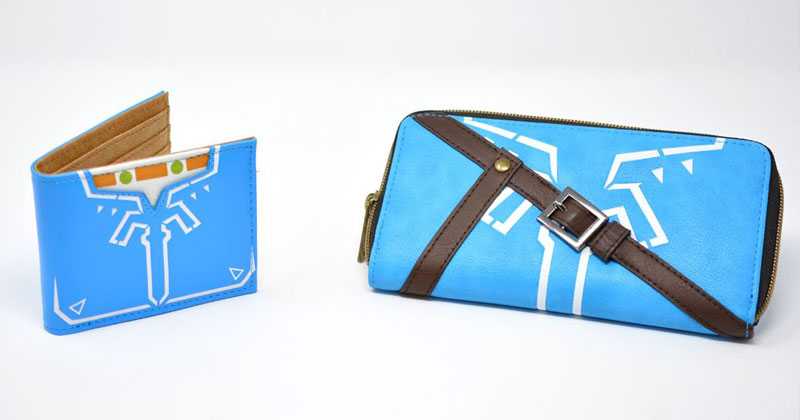 Cartera y Billetero de Breath of the Wild en Nintendo NY