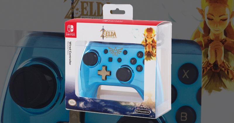 Nuevo mando cromado para Nintendo Switch
