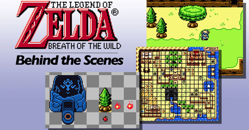 El trabajo tras la versión del Game Boy Color de Breath of the Wild