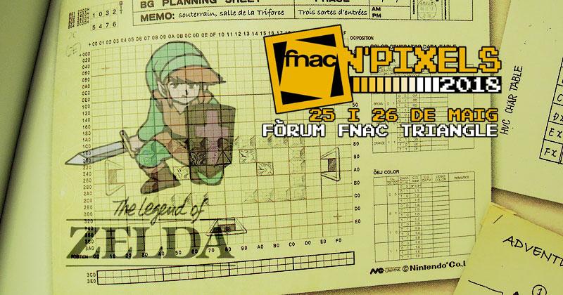 Universo Zelda en el Fnac N' Pixels el próximo 26 de mayo