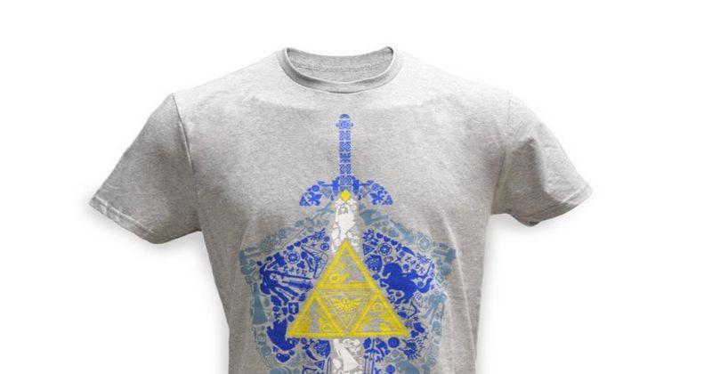 Nueva camiseta Zeldera en la tienda oficial de Nintendo en New York