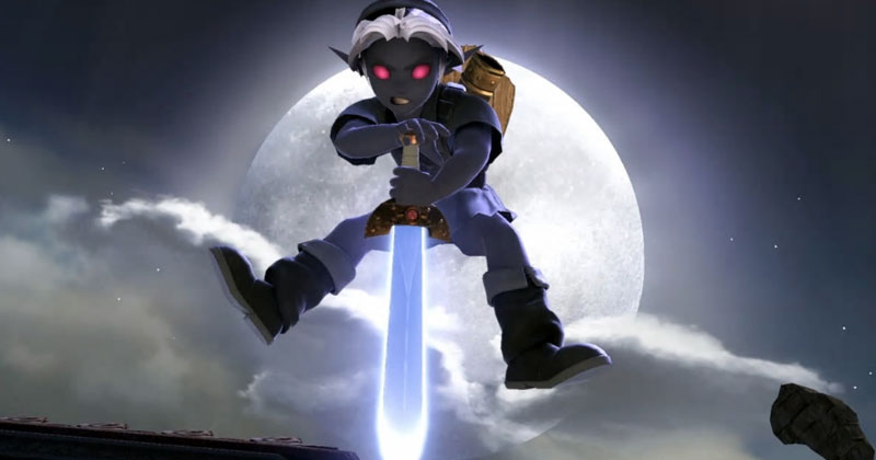 Trajes alternativos de los personajes de Zelda en Smash Bros. Ultimate