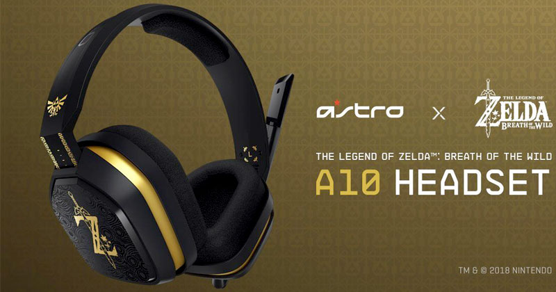 Auriculares Astro A10 Breath of the Wild