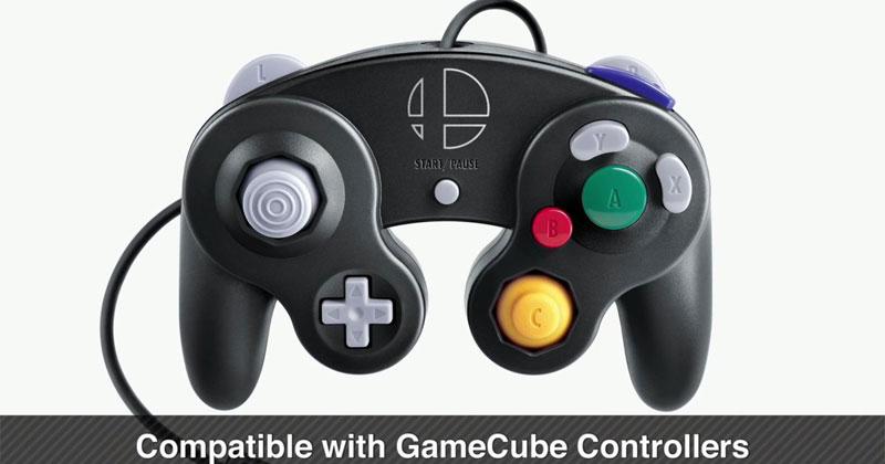 Nuevo mando GameCube diseñado para Nintendo Switch