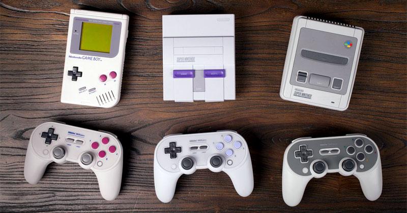Nuevos mandos de 8Bitdo para Nintendo Switch