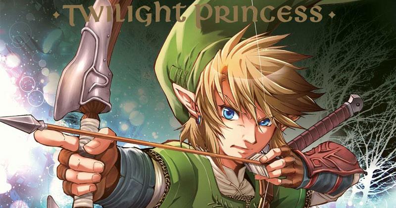 Cuarto Manga de Twilight Princess en inglés el 11 de septiembre