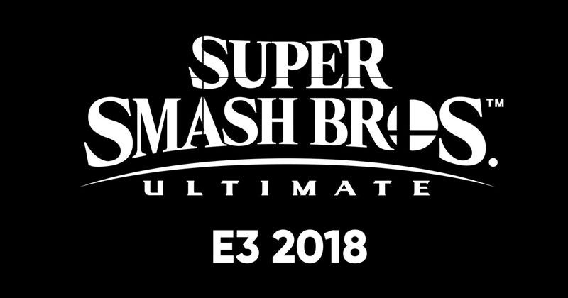Presentación de Super Smash Bros. Ultimate en el E3