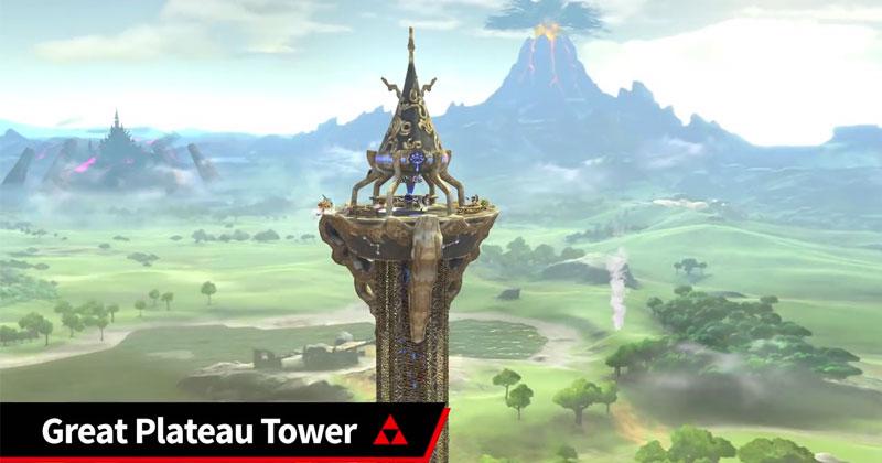 Escenarios de Zelda en Super Smash Bros. Ultimate