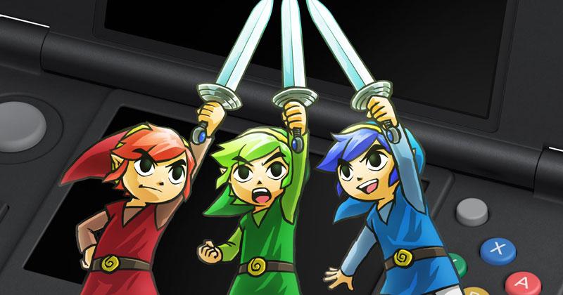 Nintendo América promociona los Zelda de 3DS