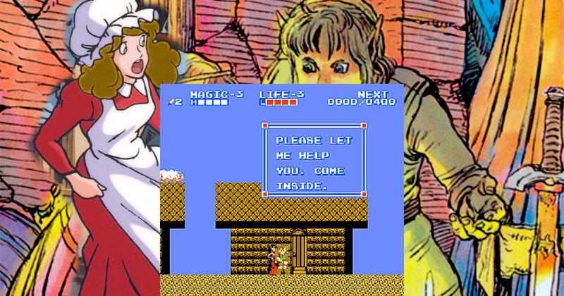 Link y el polvo mágico