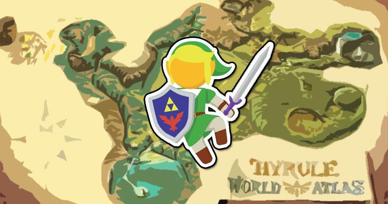 La geografía de Hyrule