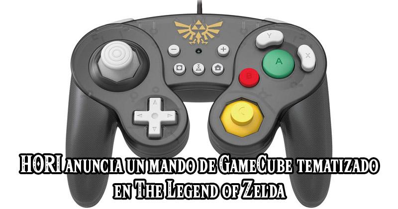 HORI anuncia un mando de GameCube tematizado en The Legend of Zelda
