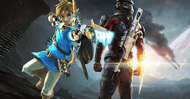 Mass Effect: Andromeda no triunfó por Breath of the Wild