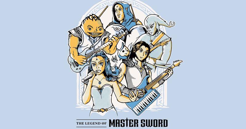 Camiseta conmemorativa de Ocarina of Time por Master Sword