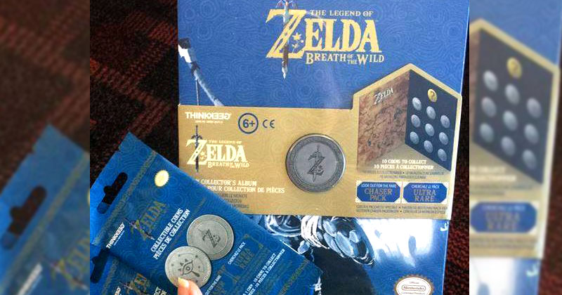 Monedas coleccionables de Breath of the Wild