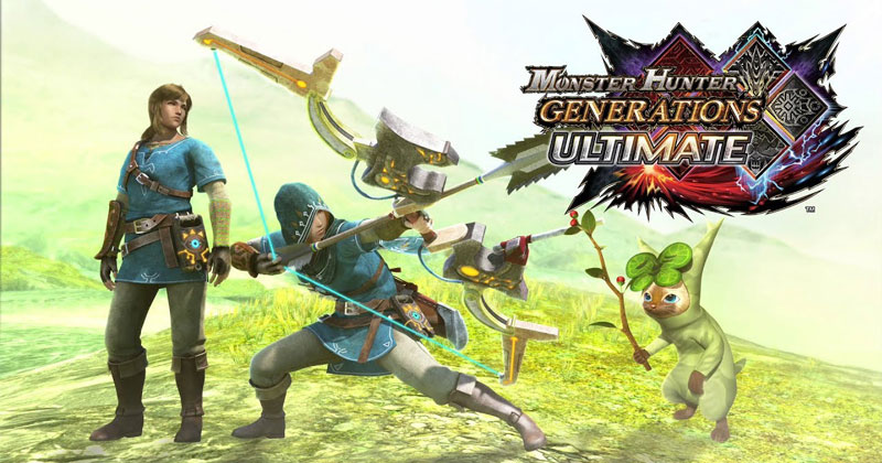 Breath fo the Wild en Monster Hunter Generations Ultimate