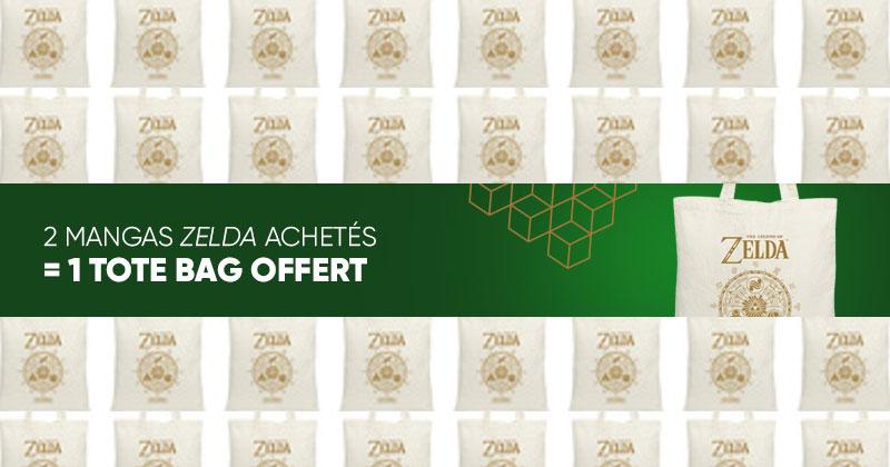 Bolsa Zelda de regalo en Fnac Francia