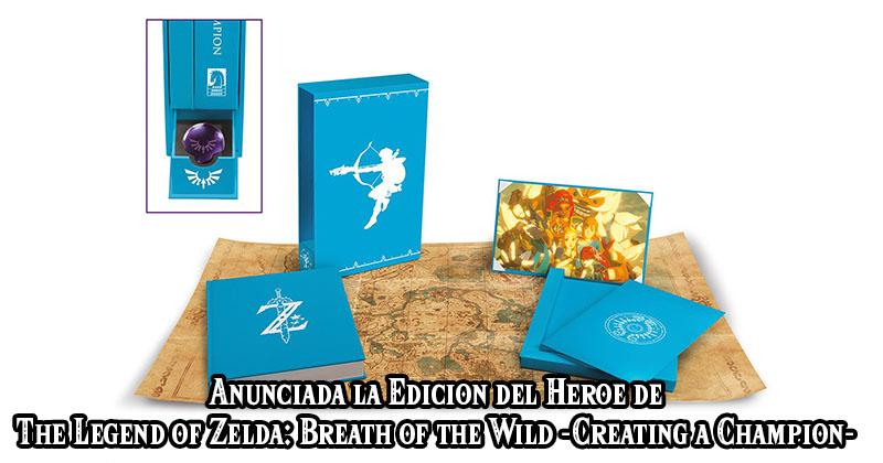 """Edición del Héroe anunciada para el libro """"Creating a Champion"""""""