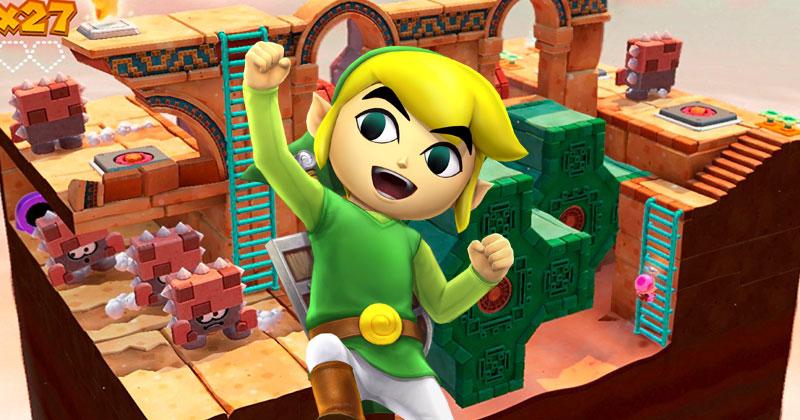 Link iba a protagonizar Captain Toad: Treasure Tracker