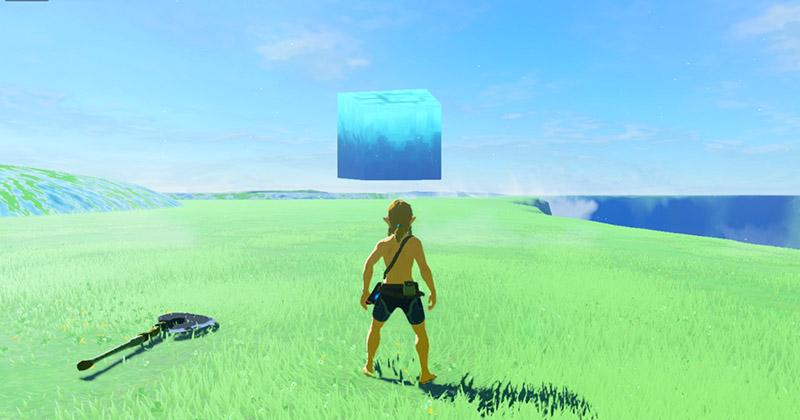 Un error permite explorar el exterior del Santuario de la Espada