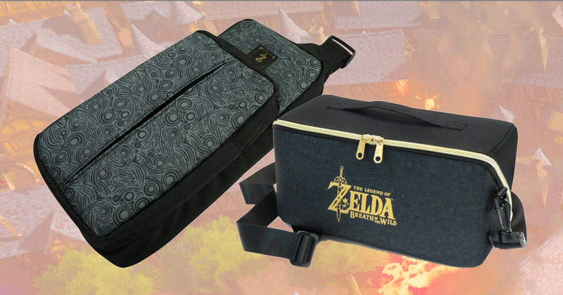 Nuevos bolsos de Breath of the Wild de HORI
