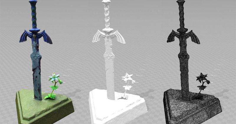 Modelo 3D de la Espada Maestra de Breath of the Wild