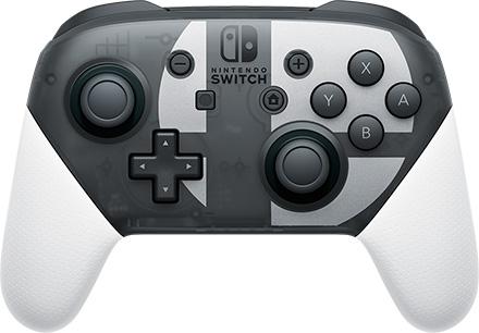 Revelado el mando Pro de Switch de Super Smash Bros.