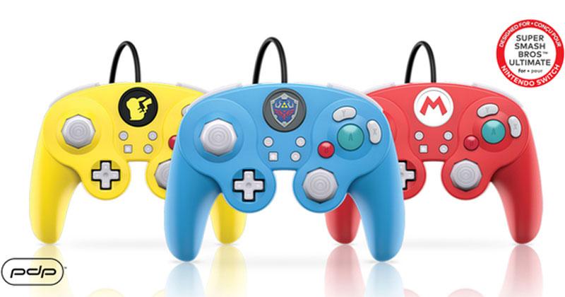 Nuevos mandos PDP estilo GameCube para Switch