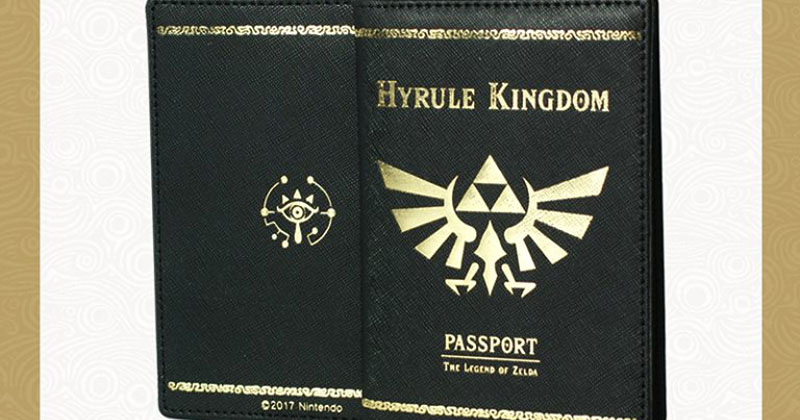 Pasaporte de Breath of the Wild al comprar el juego en Corea