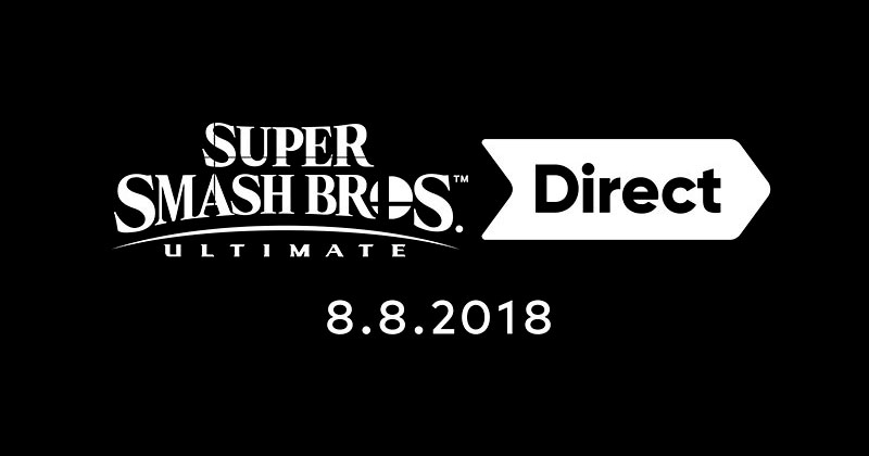 Super Smash Bros. Ultimate Direct este miércoles
