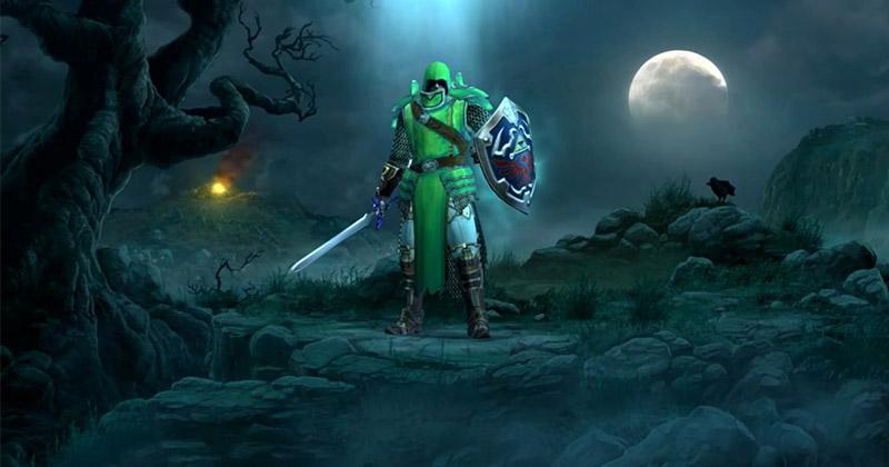 Una apariencia basada en Link fue descartada en Diablo III para Nintendo Switch