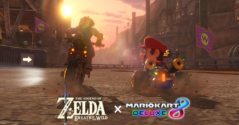 El productor de Mario Kart 8 Deluxe habla sobre su actualización tematizada en Breath of the Wild