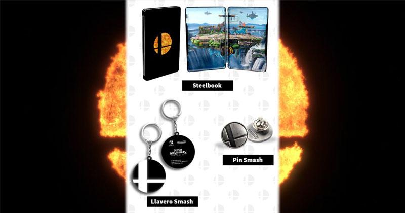 Super Smash Bros. Ultimate: los regalos al reservarlo