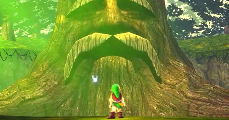 Las últimas palabras del Gran Árbol Deku