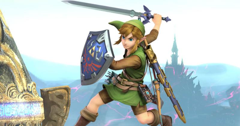 Nueva imagen de Link con la Túnica de lo Salvaje en SSBU