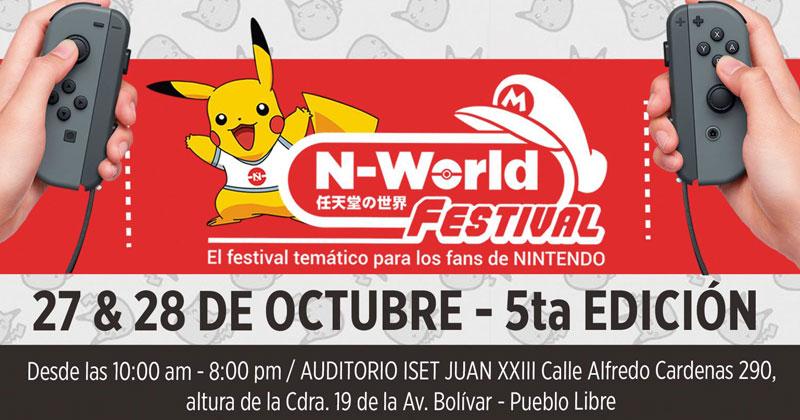 5º N-World Festival en Perú