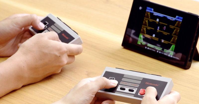 Mandos de NES para Nintendo Switch
