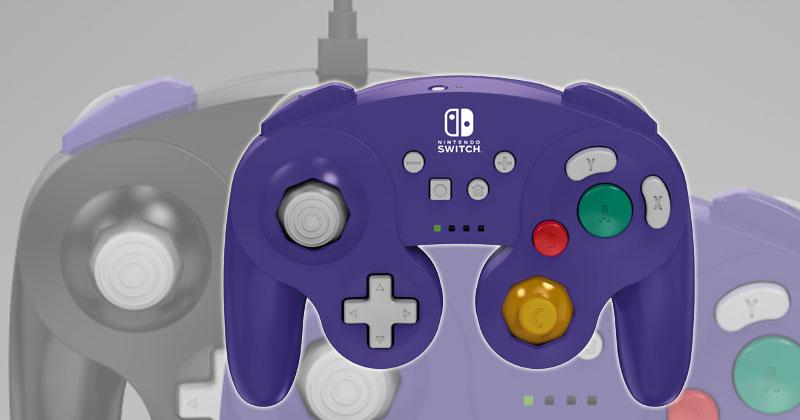 Mandos inalámbricos tipo GameCube para Nintendo Switch