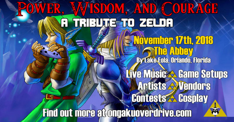 """Power, Wisdom & Courage"", evento Zelda en Florida"