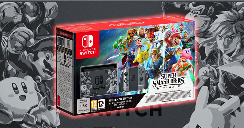 Nintendo Switch edición Super Smash Bros. Ultimate