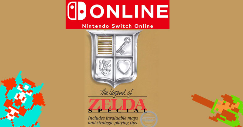 The Legend of Zelda Special para Nintendo Switch Online