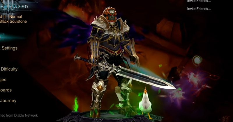 Doce minutos de Ganondorf en Diablo III: Eternal Collection