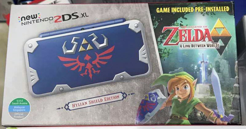 2DS XL Hylian Shield Edition llega al sudeste asiático