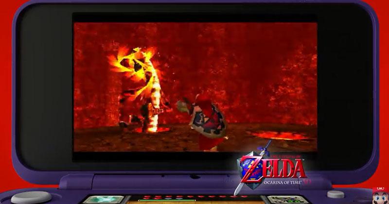 Link en el anuncio de la New Nintendo 2DS XL