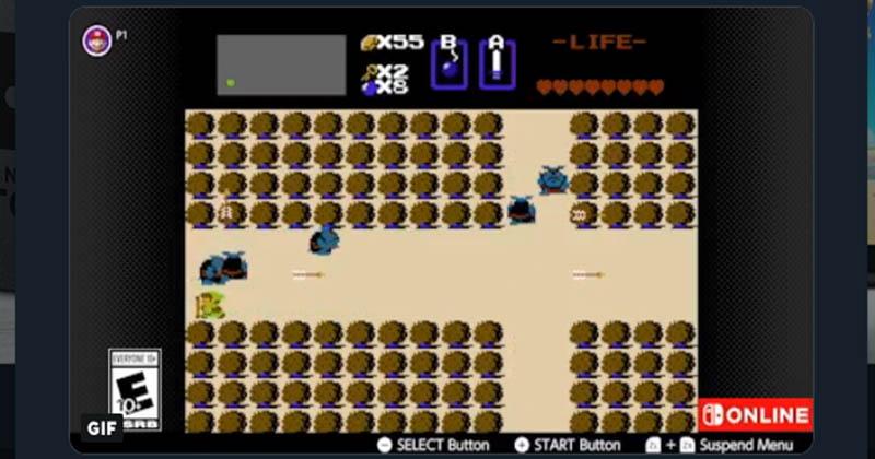 Nintendo of America nos ayuda a superar parte del primer The Legend of Zelda