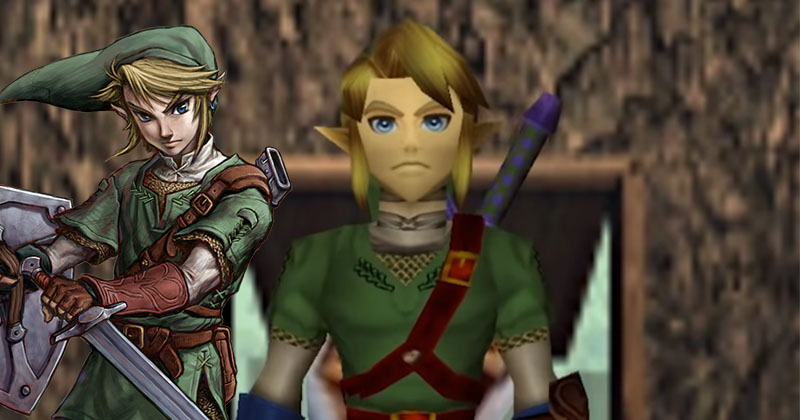 El Link de Twilight Princess se adentra en Ocarina of Time